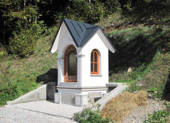 Blagoslov kapelice v Čekovniku